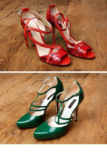 """""""את הנעליים האלה, ועוד רבות אחרות, קיבלתי במתנה מחברתי הטובה בר רפאלי. כמו סינדרלה, מסתבר שאנחנו גם באותה מידת נעליים: 40"""" (צילום: ענבל מרמרי)"""