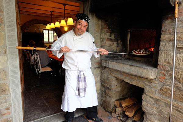 חי ונושם בישול איטלקי. השף פרנקו פלאנדרה (צילום: אסנת לסטר)