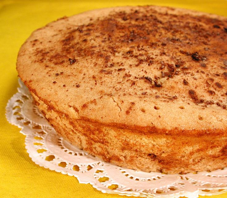 עוגת תפוחים במיקרוגל (צילום: אסנת לסטר)