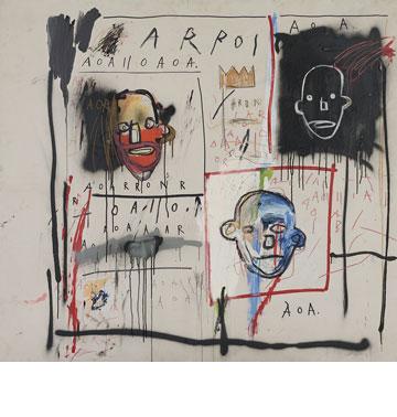 copyright © The Estate of Jean-Michel Basquiat. Licensed by Artestar, New York  (צילום: אלעד שריג)