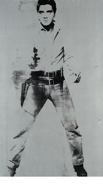 אלביס שולף. © 2013, The Andy Warhol Foundation for the Visual Arts, Inc. / Artists Rights Society (ARS), New York (צילום רפרודוקציה: אלעד שריג)