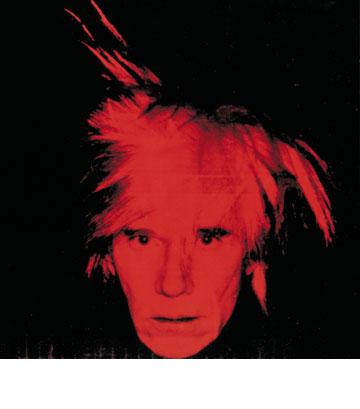 דיוקן עצמי מסוף הדרך. © 2013, The Andy Warhol Foundation for the Visual Arts, Inc. / Artists Rights Society (ARS), New York (צילום רפרודוקציה: אלעד שריג)