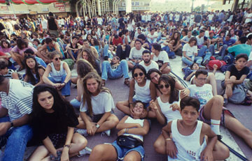 פסטיבל ערד 1991. האסון שקרה אחרי ארבע שנים הביא לשקיעתו (צילום: מאיר אזולאי)