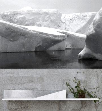 הקרחון והכיור ( )