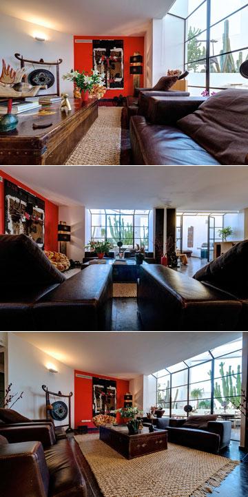 אוברזון עיצב את הדירה יחד עם בתו, האדריכלית דנה אוברזון (צילום: איתי סיקולסקי)