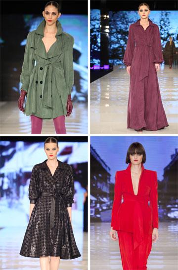 התצוגה של רזיאלה גרשון בשבוע האופנה האחרון בתל אביב (צילום: אבי ולדמן, ענבל מרמרי)