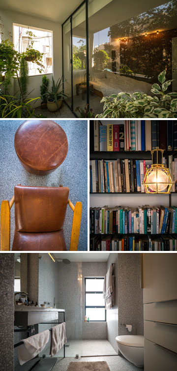 להבי יודע לספר את ההיסטוריה מאחורי כל אחד מהפריטים בבית, חלקם של מעצבים ישראלים, חלקם של מעצבים בינלאומיים (צילום: איתי סיקולסקי)