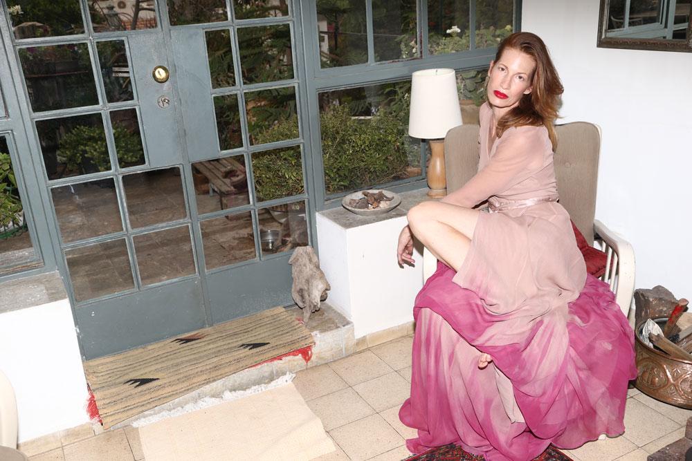 מיקי בשמלה, ויוי בלאיש  (צילום: יניב אדרי )