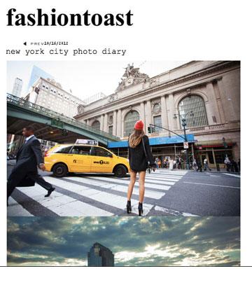 Fashiontoast של הבלוגרית הנחשבת רומי נילי