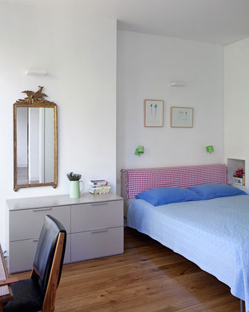 חדר השינה של ההורים (צילום: אלעד שריג)