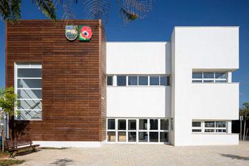 על כל שקל ממשרד החינוך, המועצה שמה 10 שקלים. הגן החדש בכפר שמריהו (צילום: שי אפשטיין)