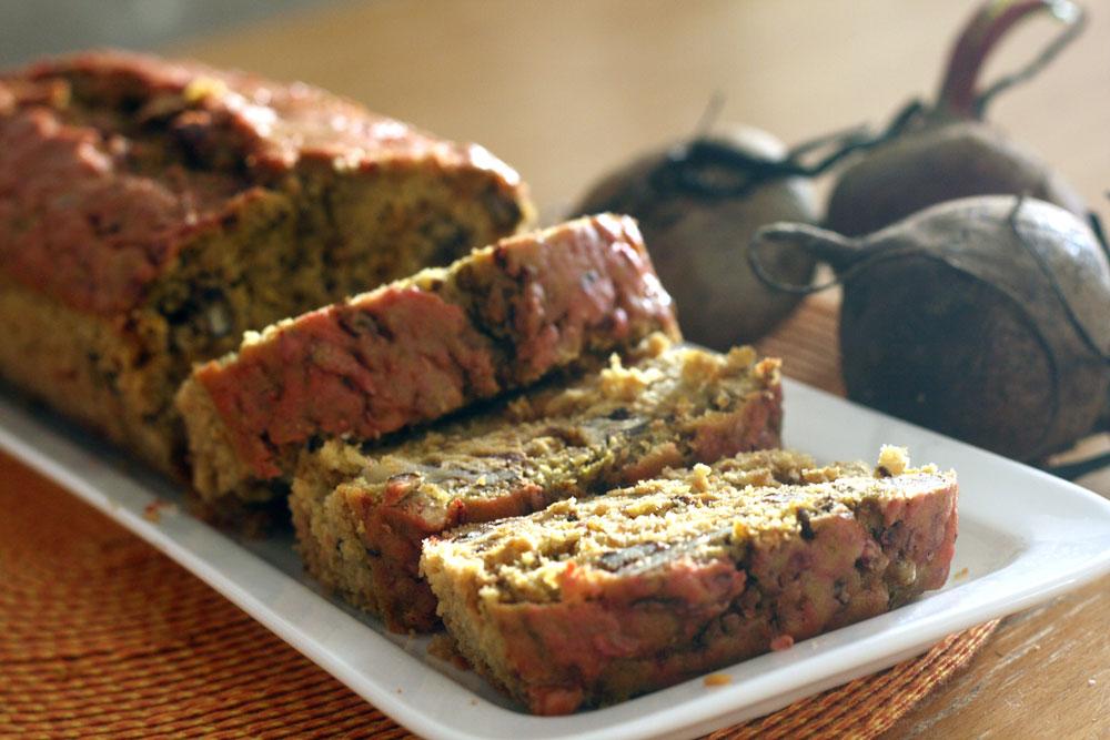עוגת סלק ואגוזים דיאטטית. 130 קלוריות לפרוסה (צילום: אבירם פלג )