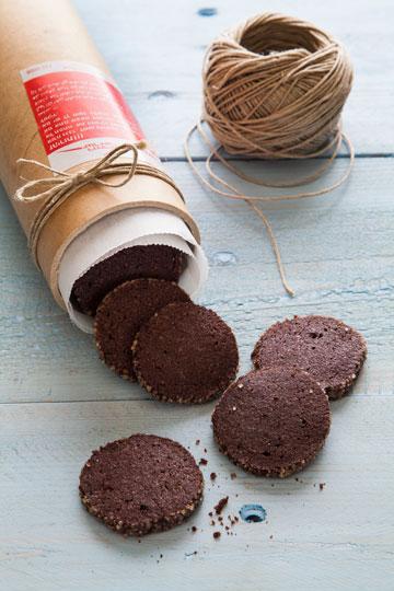 עוגיות שוקולד בניחוח וניל (צילום וסגנון: אסף אמברם)