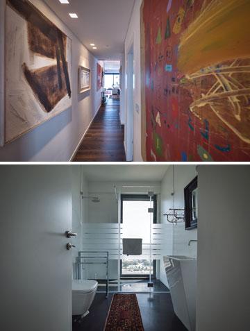 """""""הדירה מחולקת לפינות. אני מניחה שעם השנים הטעם משתנה, ועם הגיל יש דברים שחשובים לך יותר בעיצוב הבית"""" (צילום: איתי סיקולסקי)"""