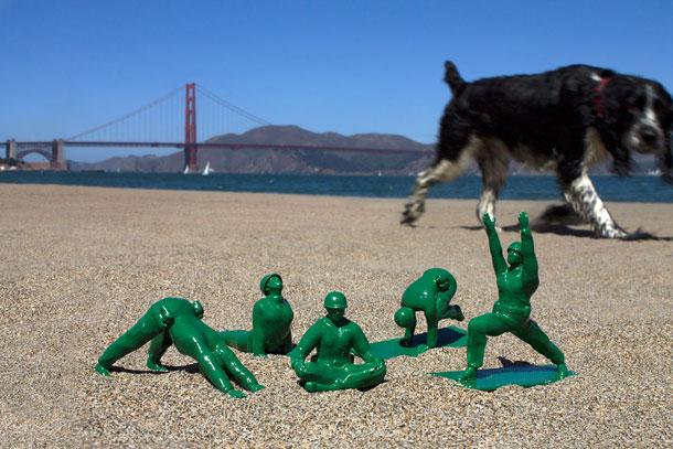 חלופה ירוקה ומלאת הומור לתרבות המיליטריסטית שלנו