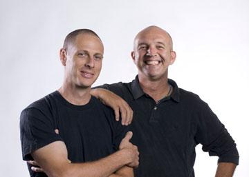עמי דרך (מימין) ודב גנרשוא (צילום: מוטי פישביין)