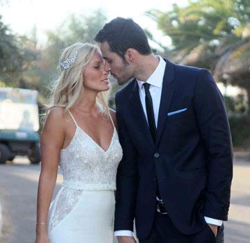 יואב ראובני ועדי רונן בחתונתם בקיסריה (צילום: ענת מוסברג, באדיבות ynet)