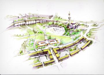 """האם כך תיראה טנטור? (באדיבות ערן מבל אדריכלים – ארכיטקטורה ובינוי ערים בע""""מ)"""