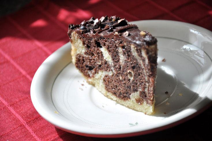 אחרי שתקראו את המדריך, גם לכם תצא עוגה כזאת. וברור שהמתכון  שלה נמצא בסוף הכתבה ( צילום: טל אברזל )