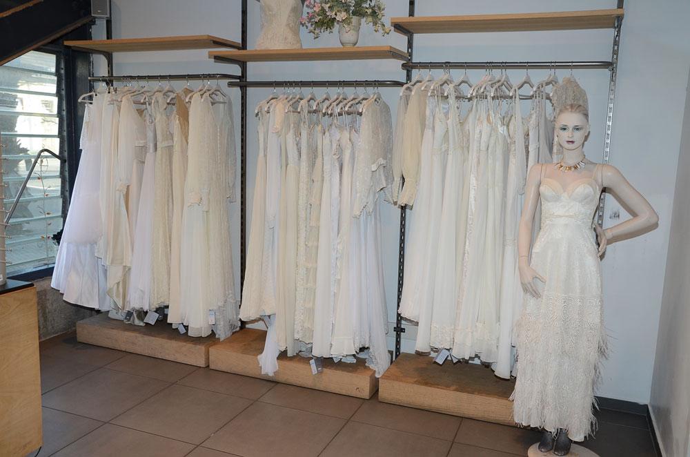 המעצבים פרגנו. שמלות הכלה שימכרו בהפנינג הגדול (צילום: אביב חופי)