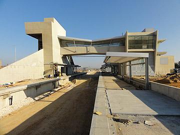 תחנת הרכבת ביבנה (צילום: שאול רינד)