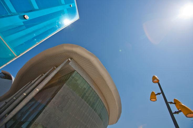 המשכן לאמנויות הבמה באשדוד. האדריכל בטוח: תהיה כאן חגיגה שאין למצוא במקומות דומים בישראל (צילום: מור דגן הפקות)