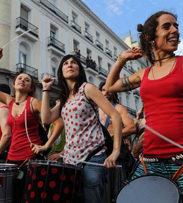 המהפכה בספרד: שותפים לדרך? (צילום: gettyimages)