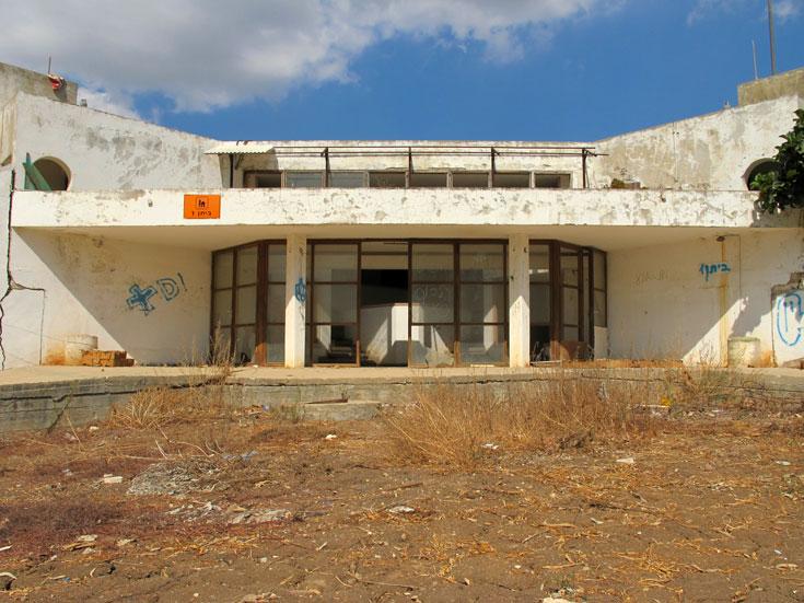 חזית בית הנעורים של כרמי, היום  (צילום: מיכאל יעקובסון)