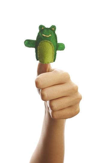 יצירת בובות אצבע (צילום: shutterstock)