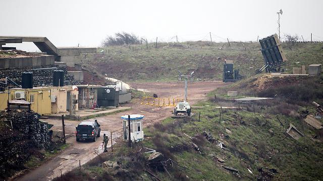НаГоланских высотах упало два снаряда изСАР