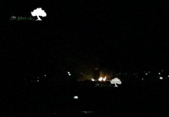Izrael csapást mért egy Damaszkusz melletti fegyverraktárra