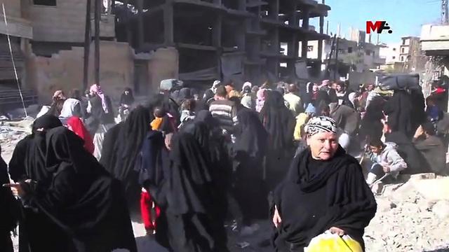 3 000 civils ont été évacués de Raqqa — Syrie
