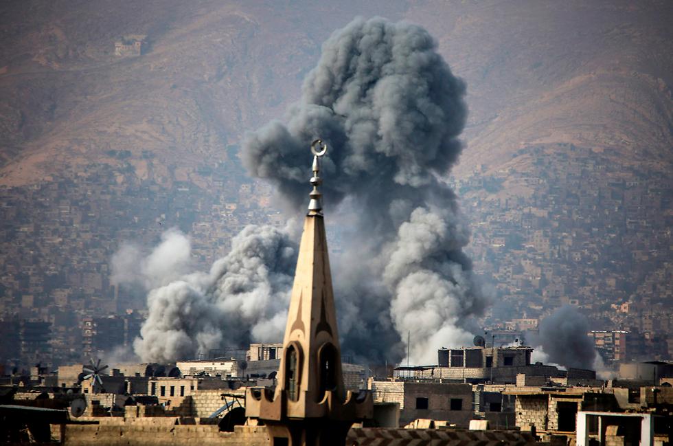 Frappe de la coalition contre des forces pro-régime — Syrie