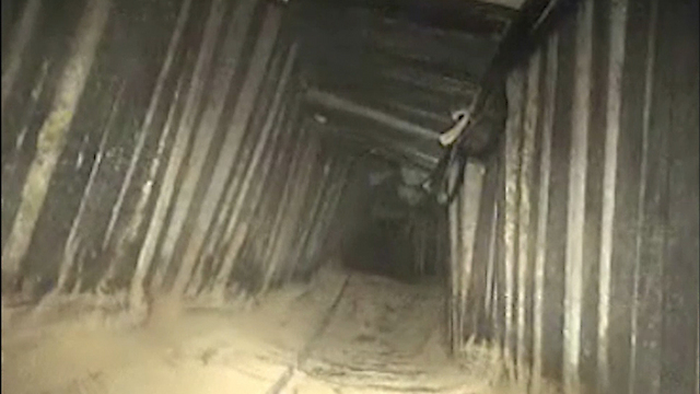 Nouvelle destruction d'un tunnel du Hamas — Israël