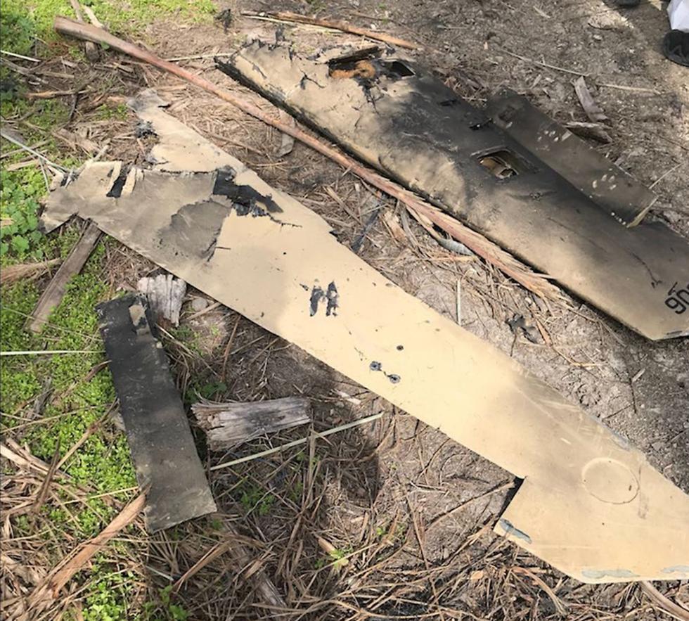 Izraeli hadsereg: támadásra készült a februárban lelőtt iráni drón
