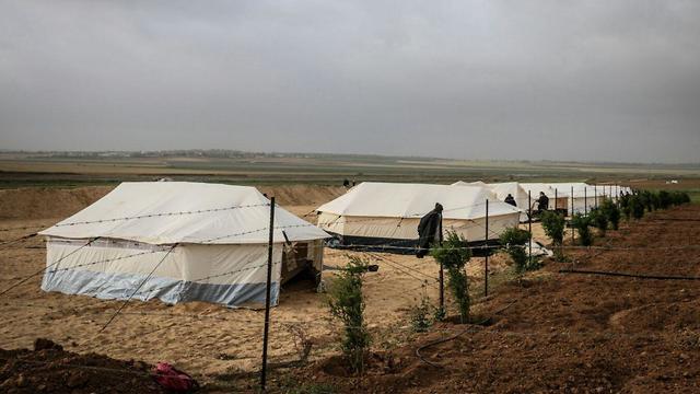 Face à face meurtrier — Gaza