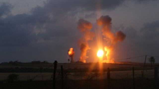 Az izraeli légierő a Hamász állásait bombázta a Gázai övezetben szombat este