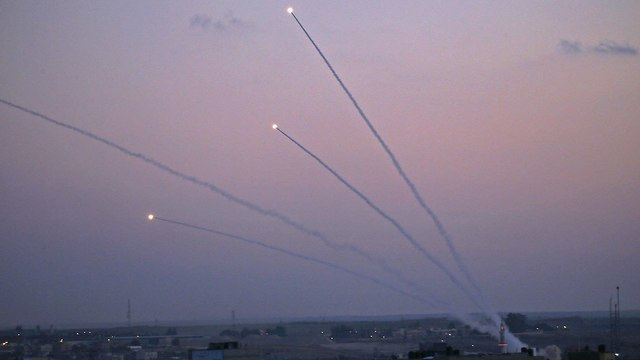 BREAKING PHOTOS: 300 rockets fired from Gaza, IAF strikes 70 targets
