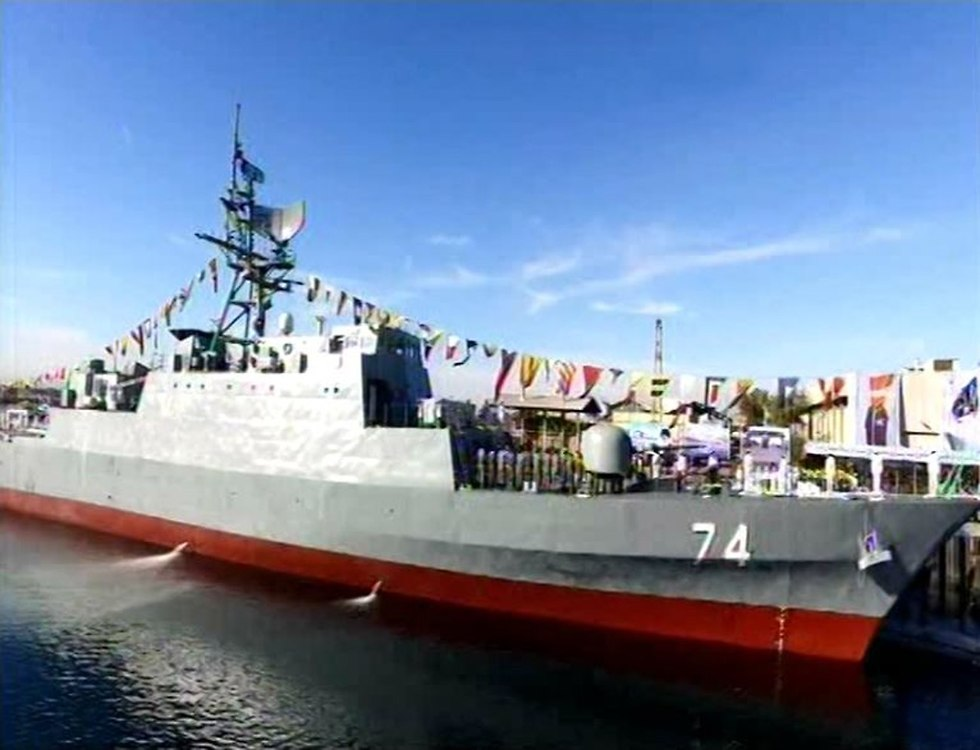 Iran Launches New Stealth Destroyer, Radically Increasing Naval Power
