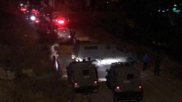 IDF forces in Nablus early Tuesday