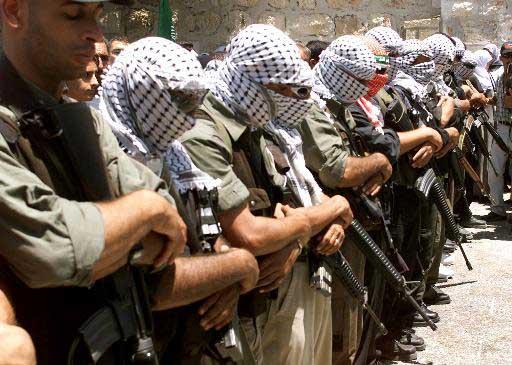 Tanzim militants (Photo: AP)