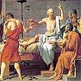 מותו של סוקרטס בציור של ז'ק-לואי דוויד