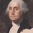 """ג'ורג' וושינגטון, נשיאה הראשון של ארה""""ב"""