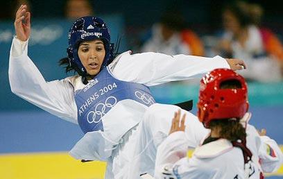 מאיה ערוסי. הנציגה הראשונה של ישראל באולימפיאדה (צילום: רויטרס)