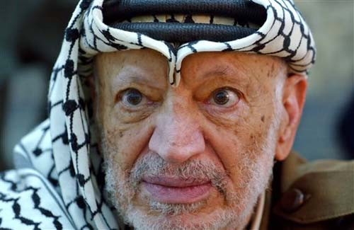 Yasser Arafat (Photo: AP)