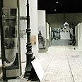 שחזור רחוב בגטו ורשה במוזיאון השואה החדש