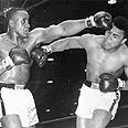 מוחמד עלי (מימין) בקרב מול סוני ליסטון, 1964