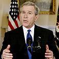בוש בנאום לכידתו של צדאם חוסיין