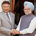 """נשיא פקיסטן במפגש עם רה""""מ הודו"""