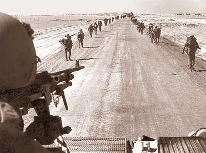 IDF near the Suez Canal in 1973 (Photo: IDF) (Photo: IDF Spokesperson's Unit)
